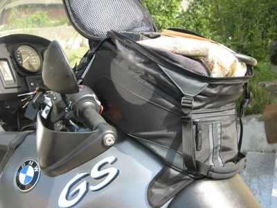 magentic pack for a motorcycle