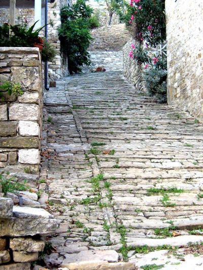 Motovun steps
