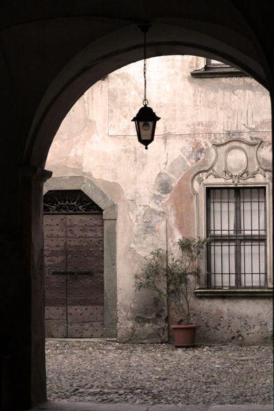 Tirano italy facade