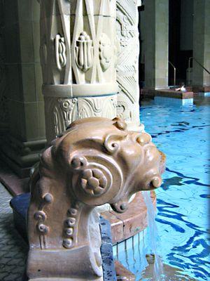 Bath house budapest