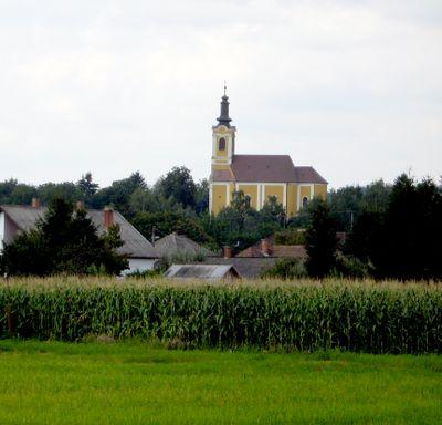 Little village in eastern europe