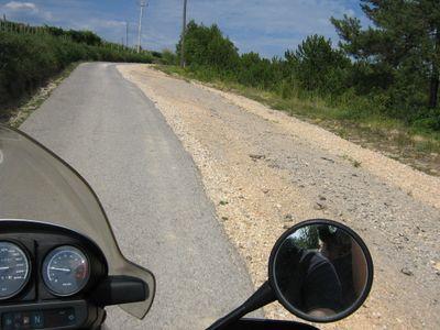 on the back roads croatia