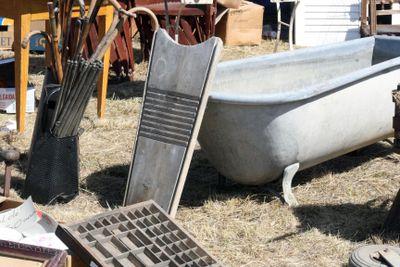 Leyment brocante zinc tub