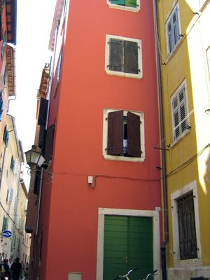 Rovinj color town