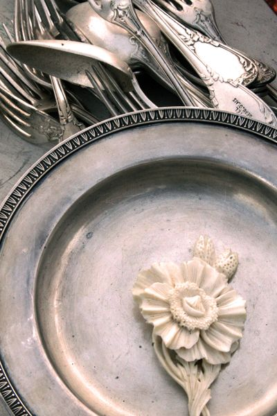 French silver at the brocante