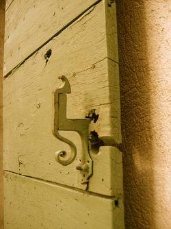 shutter latch