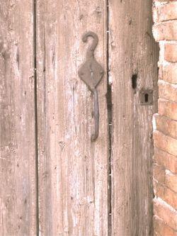 Door in French Village