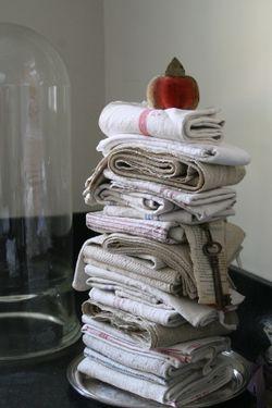 Linen and hemp towels