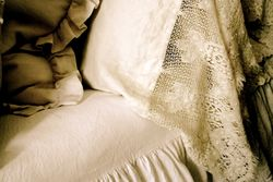 antique lace pillow cases