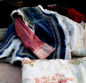 French antique children clothing