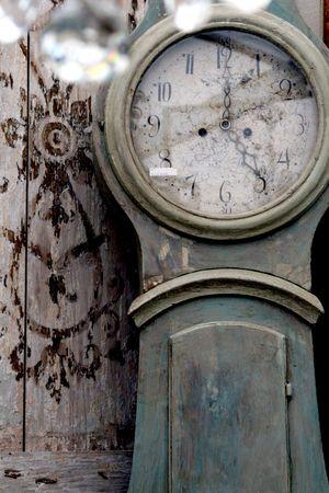 Swedish antique clock
