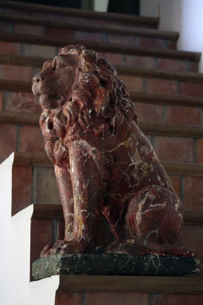 French Antique Lion