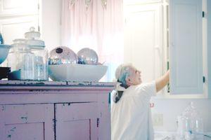 Willow Nest Pink Kitchen