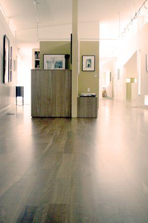 Artist's hallway in cassilhaus
