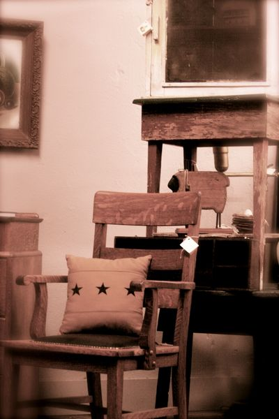 stacked antiques