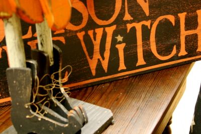 witches' shoes