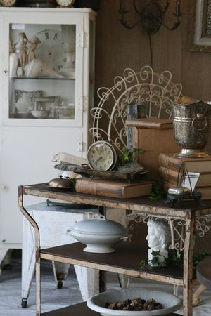 antiques at Marburger
