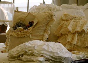 Judy Hill's bed linen