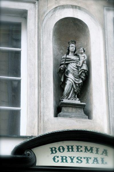 Virgin and Jesus Prague