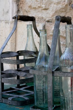 French wine bottle carriers