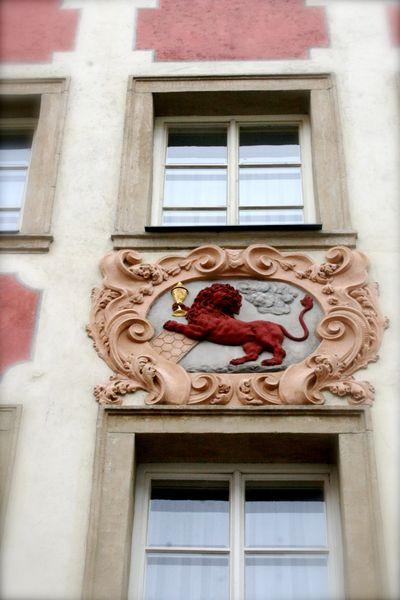 Prague symbolic doorways