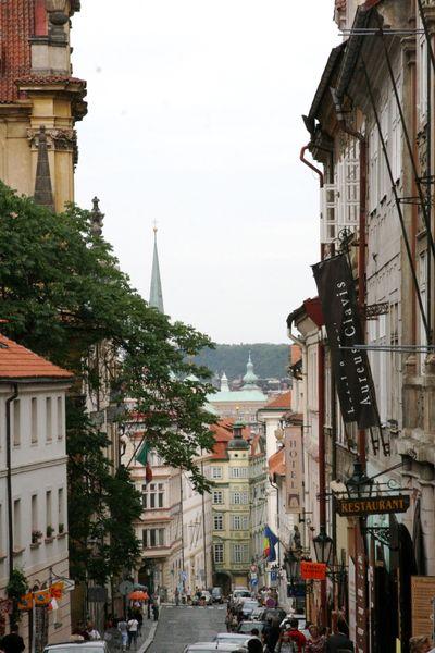 Street view Prague