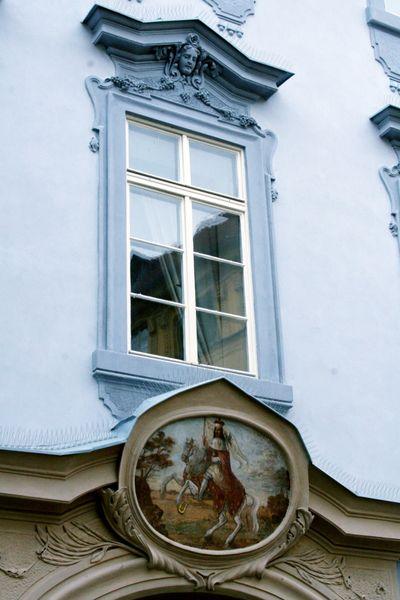 Knight Prague doorway