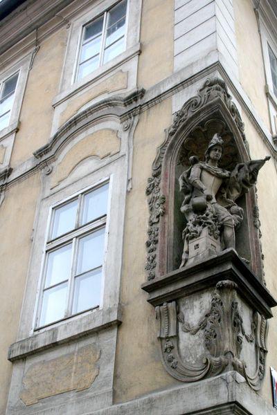 Corner detail Prague