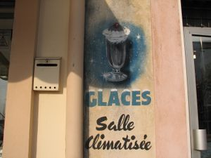 glaces salle climatisee