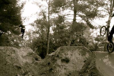 dirt riding BMX trails france