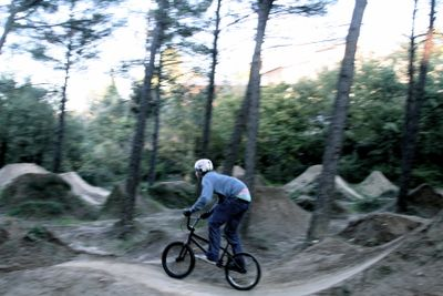 Sacha BMX DIRT trail