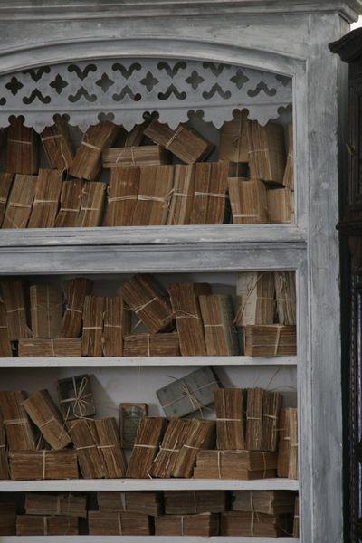 old books at Marburger antique fair in Texas