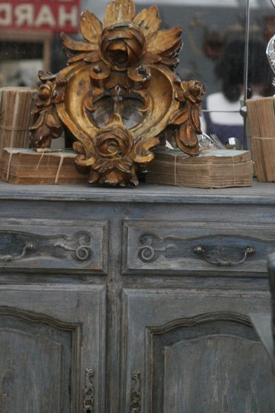 antiques and books at marburger fair in texas