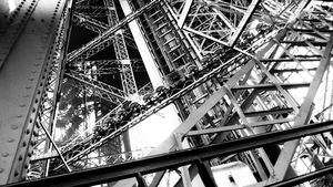 ironwork the Eiffel tower