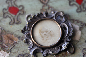 Antique-locket