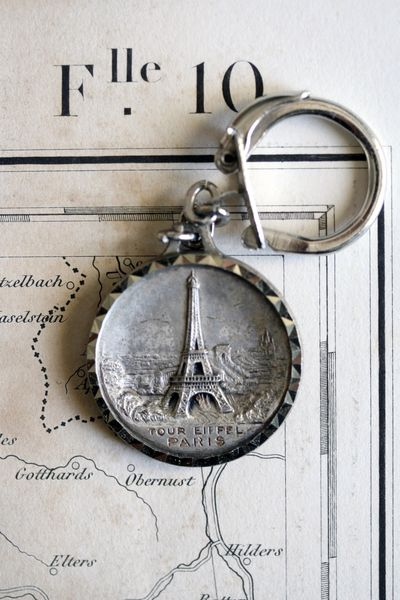 Eiffel-tower-key-chain