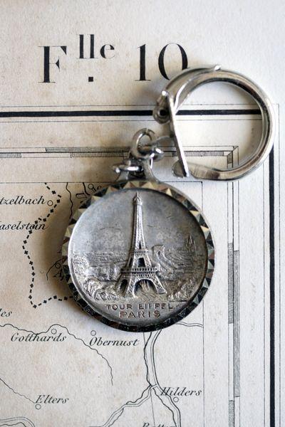 Eiffel-tower-key-chain