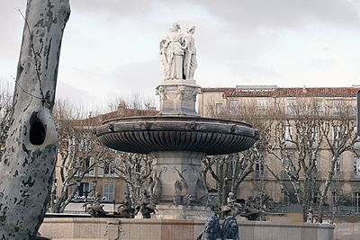 Aix-fountain