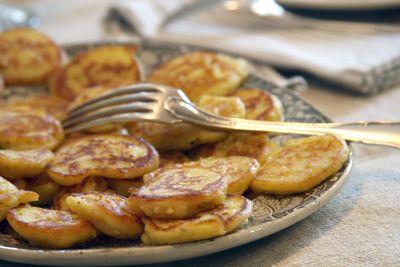 Potato-blinis
