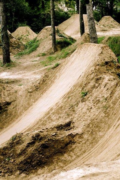 BMX dirt trails