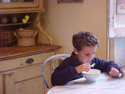 my son when he was a little boy