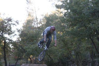 BMX jump France