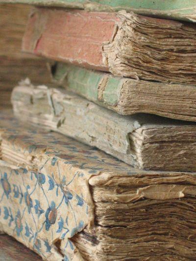 old paper back books