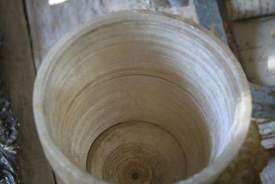 top of vase