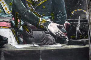 Napoleon signing