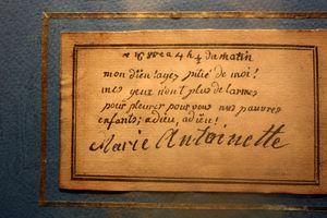 Marie-antoinette-letter