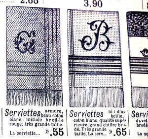 Monogram-towels