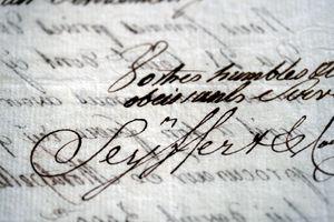 Frenh-signature