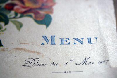 French-menu-design
