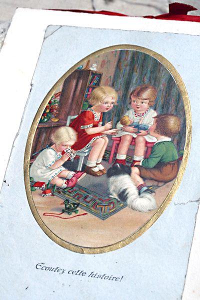 Child's-postcard